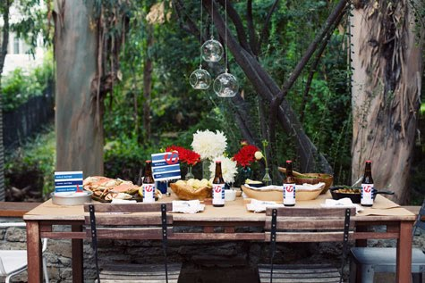 Hanging candle event design from Bash Please and Accent Decor