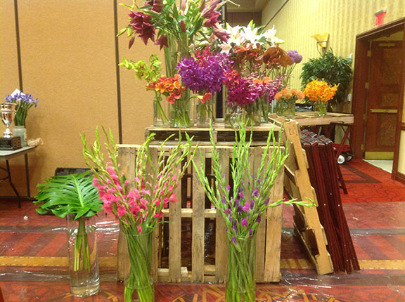 Tennessee state floral convention - #accentdecor