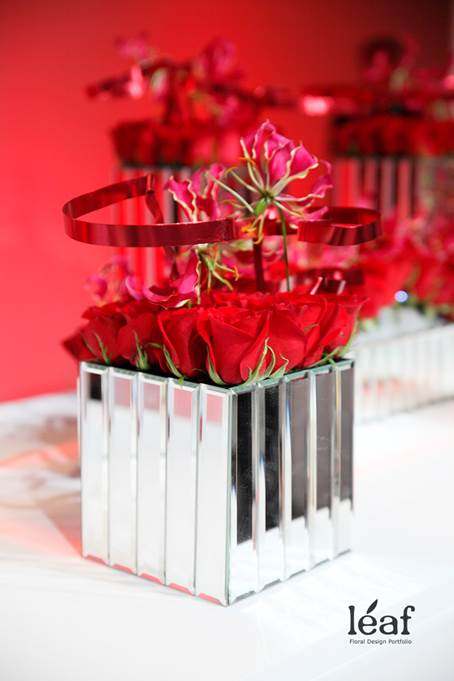 Floral Design by Donald Yim AIFD featuring Accent Decor products