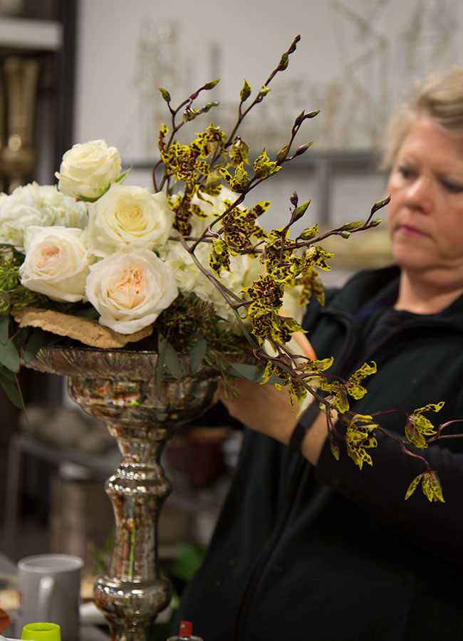 Joyce Mason-Monheim, AIFD, Floral Director for Accent Decor