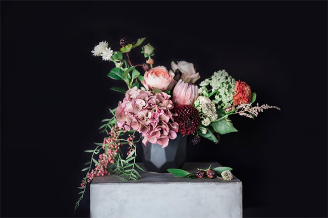 Floral Arrangement by @RekindleCreative for the #AccentDecorMagic Style Challenge